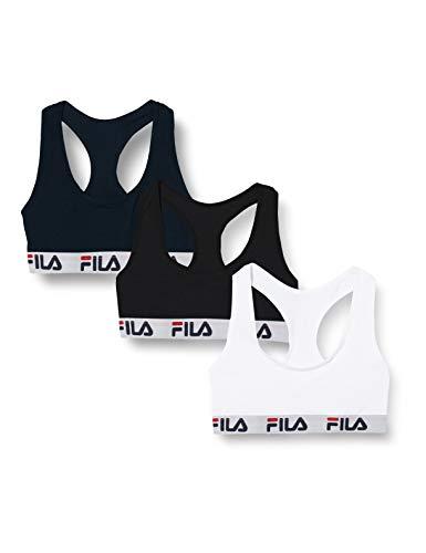 Fila Damen Women FI/2/BRAX3 Sport-BH, Fu6042c, Large