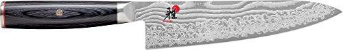 MIYABI Gyutoh Coltello Giapponese, Acciaio Inossidabile, 36 cm