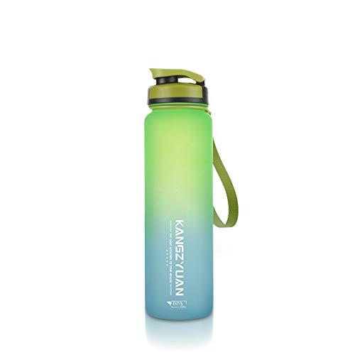 MSNLY Freizeit Outdoor-Sportflasche große Kapazität Outdoor-Sportbecher mattierte Raumbecher Plastikbecher Sportbecher