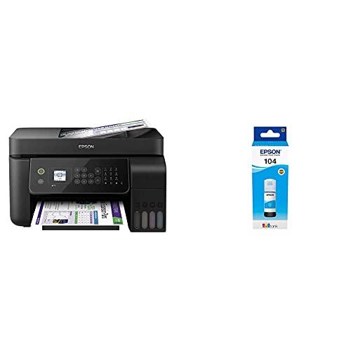 Epson EcoTank ET-4700 Stampante Multifunzione Inkjet a...