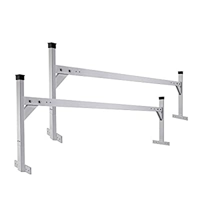 """RecPro Adjustable Aluminum Ladder Racks 