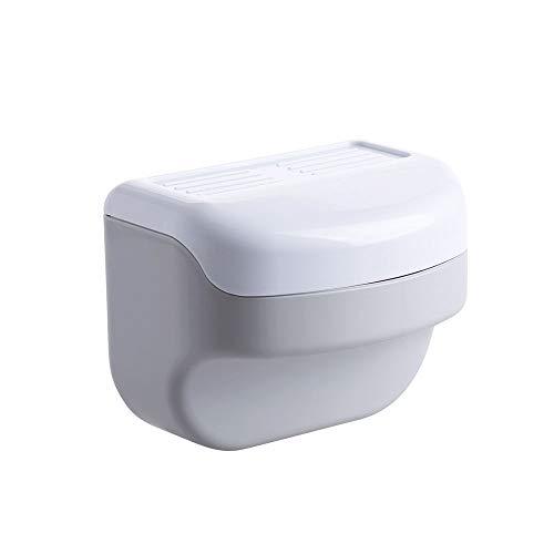 XVXFZEG No perforada del sostenedor del tejido a prueba de agua en la toalla de papel de pared Dispensador, Aseo papel resistente al agua, montado en la pared de la mano Dispensador de toallas, de tej