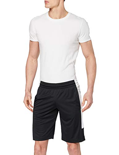 Nike M J Air Dry Knit Short, Pantaloncini Uomo, Nero/Bianco/Bianco, M