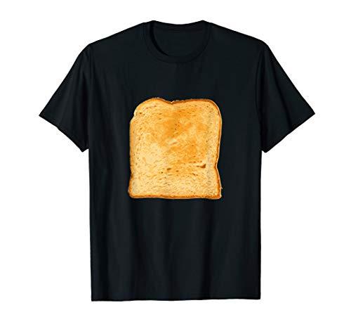 Lustiges Brot & Toast T-Shirt Halloween Karneval Kostüm