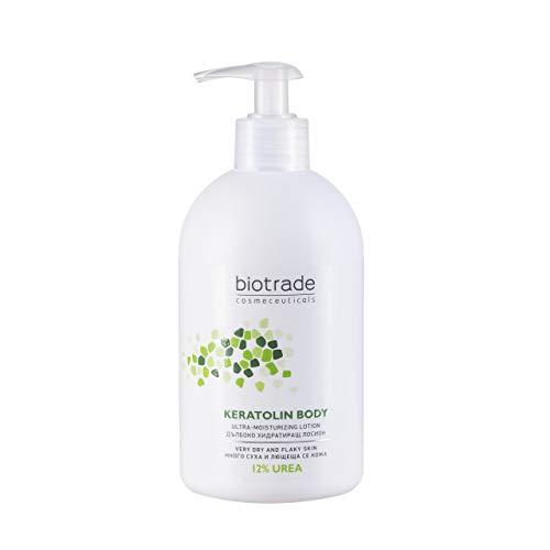 Keratolin Body Lotion 12% Urea 400ml Ultra Feuchtigkeitsspendende Lotion Für Sehr Trockene Und Schuppige Haut Von Biotrade