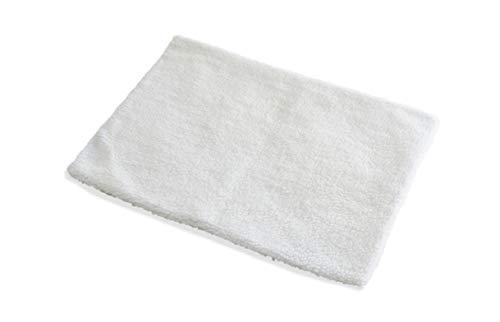 PiuPet® Selbstheizende Decke für Hunde, Größe: 90x60cm, Innovative & Umweltfreundliche Wärmematte, Hundedecke (90x60cm, beige/weiß)