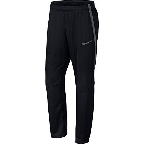 Nike Men's Epic Knit Open Hem Pant (Large, Black/Dark Grey/Black/Dark Grey)