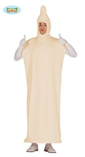 Guirca Kondom Kostüm für Erwachsene Präservativ Bräutigam Junggesellenabschied M/L, Größe:L