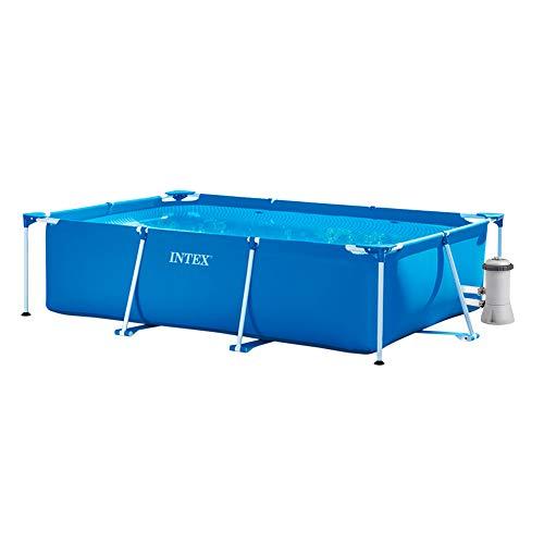 Intex Pack Piscina Small Frame 300x200x75 cm 3834 litros + Depuradora Cartucho...