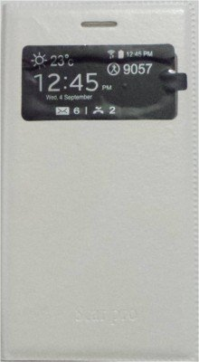 CHL S-View Flip Cover for Samsung Galaxy Star Pro (GT-S7262) - White