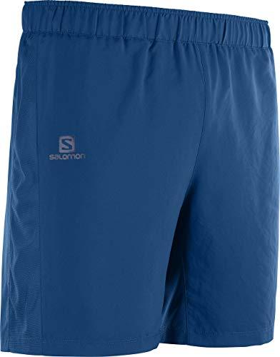 SALOMON Agile 7'' Short Pantalón Corto, Hombre, Poseidon, 2XL