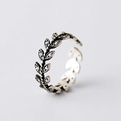 ZZRWish Retro Punk Rings for Men Gothic Thai Silver Plated Jewelry ...