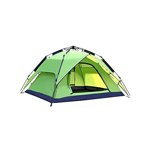 QIAOLI Zelt Wüste Doppelzelt Outdoor Doppelzelt Regenschutz Camping Zelt Party Zelt Schutz Für Familien Wandern und Bergsteigen Kuppelzelte