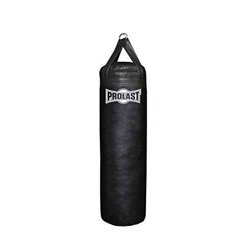 PROLAST 4 ft 80 lb Heavy Bag and Punching Bag Filled (Black - Hand Made in USA)