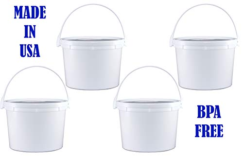 Reusable Containers for Use With DUO Mini Instant Pot: 64 oz Four-Pack