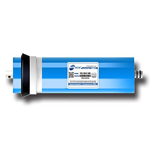 Filtro de Agua de 0.0001 micrones 200G Membrana RO para el hogar bajo el Fregadero Sistema de purificación de Agua RO para Beber (Tamaño: 11.73 * 2.7 Pulgadas)