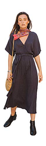 A Peace of Ibiza Delphine jurk, katoen, Eén grootte