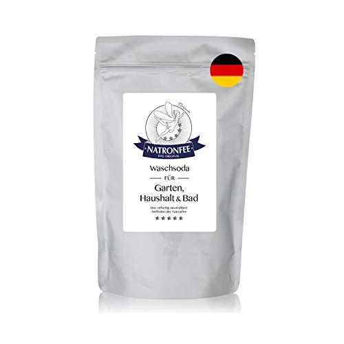 Waschsoda der Natronfee – Soda als wasserlösliches Pulver – Natriumcarbonat. Vielseitig anwendbares und bewährtes Hausmittel. 500 g