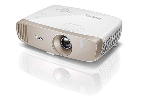 BenQ W2000 3D Thuisbioscoop Projector, Full HD, Cinematic Color, REC, 2000 ansi Lumen, Contrast 15.000:1, Goud/Wit