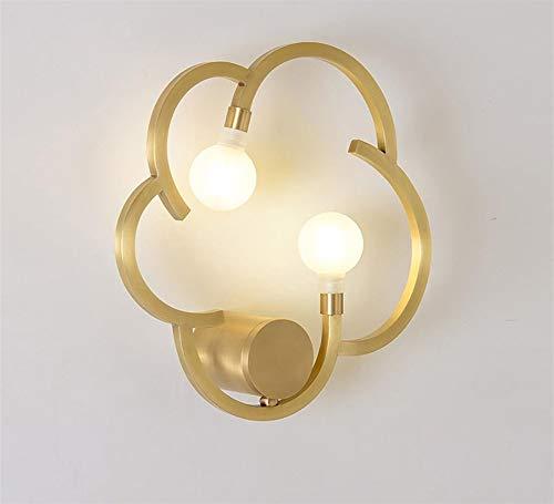 Wandlamp, wandlamp, wandlamp, wandlamp, moderne koper, zijwandlamp, woonkamer, restaurant, slaapkamer, nachtlamp, badkamerlamp, wandlamp, 35 x 10 cm, G9