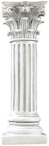 AISHANG Pedestal de Columna Romana Antigua, decoración Koslin Columna Pedestal Estatua Resina...