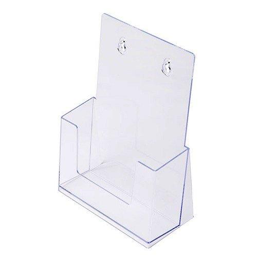 Prospekthalter DIN A5, Aufsteller Prospektständer Flyerhalter Flyerständer Acryl glasklar Prospekthalter A5