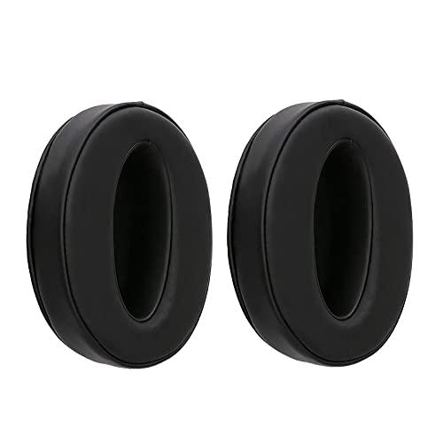 Par de almohadillas de repuesto de piel suave, almohadillas de espuma viscoelástica compatibles con Sennheiser HD 4.50 BTNC