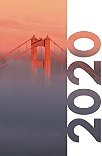 2020: Gifts for someone moving to San Francisco Charming Planner Calendar Organizer Daily Weekly Monthly Student Diary for research on Christmas gifts for civil engineers