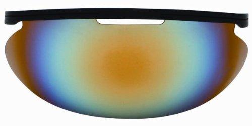 Diamond Iridium Baseball Face Mask Sun Visor, Multi Color