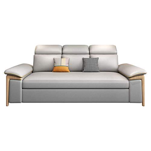 Equipo para el hogar Sofá cama de dos plazas plegable Sofá cama Sofá extraíble Sofá cama convertible Sofá suave y cómodo Sofá de almacenamiento multifuncional moderno Sofá cama Apartamento Muebles