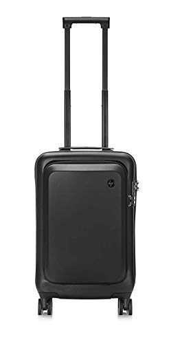 HP 20 Hard Case All in One Carry On Wheeled 42 LTR Cabin Luggage Trolley with Dedicated 15.6-inch Laptop Compartment (7ZE80AA)