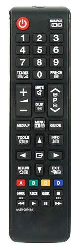 Ersatz Fernbedienung Kompatibel für Samsung UE40J5100 40