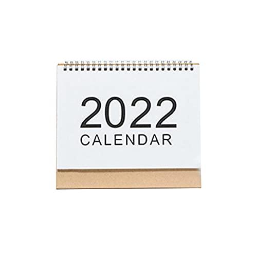 WOTEG Tafelkalender, sep.2021 – december 2022 tafelkalender staande flip-desktopkalender staande tafelkalender met…