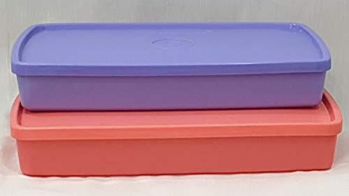 Tupperware Cool n Fresh Lunch Box 600ml Set of 2