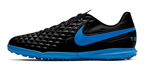 Nike Tiempo Legend 8 Club Tf, Scarpe da Calcio Uomo, Multicolore (Black/Blue Hero 4), 42.5 EU