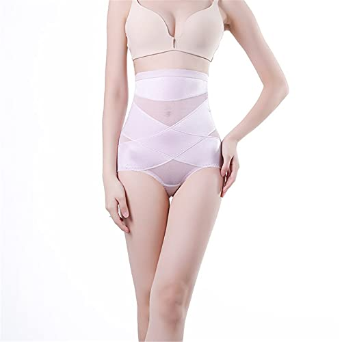 FZPGFDB Krzyżowe spodnie do formowania brzucha, figi z wysoką talią dla kobiet podnoszące brzuch trener bezszwowa bielizna