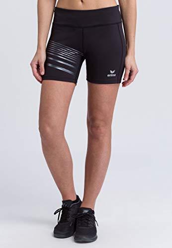 Erima - Running-Shorts für Damen in Schwarz, Größe 36