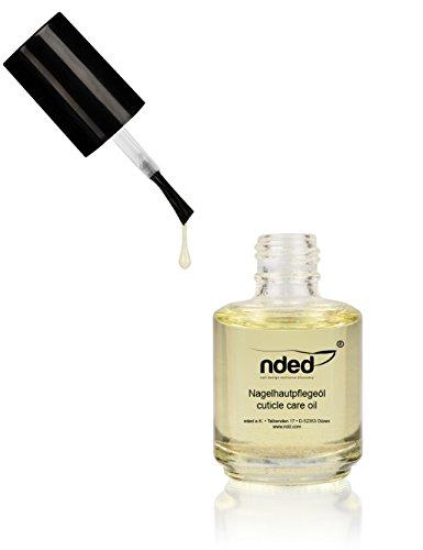 Huile de soin parfumée pour cuticules NDED, Citron, 15 ml