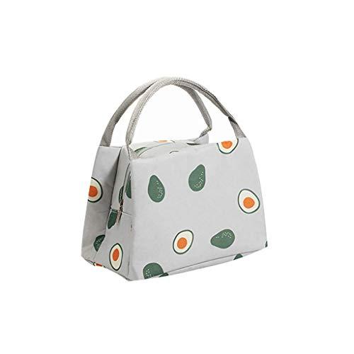 URIBAKY Bag - Cuatro Opciones Bolsa TéRmica Bolsa De Almuerzo Suave Bolsa Para Almuerzo/Picnic/Infantil/Trabajo/Chica/Picnic/Escuela/Mujeres -5L
