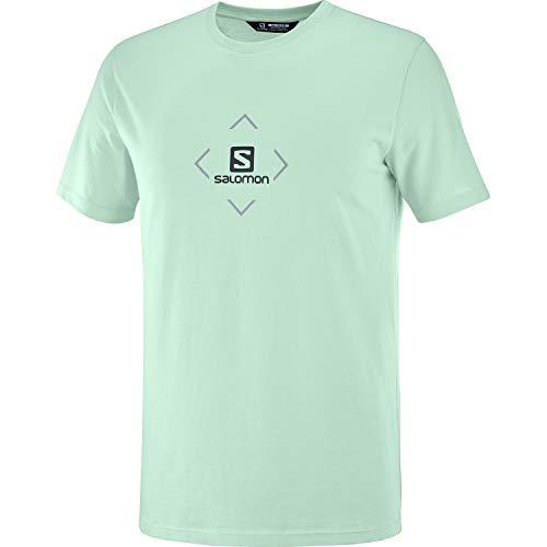 Salomon Cotton Camiseta Hombre Trail Running Sanderismo