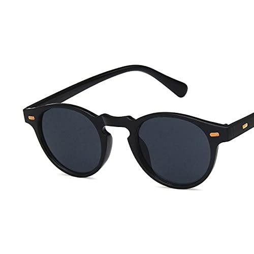 Sunglasses Gafas de Sol Gafas De Sol Redondas De Diseñador Hombre, Gafas De Sol De C