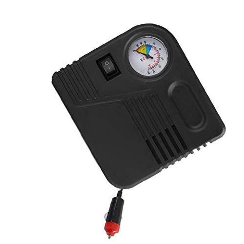 AAGOOD-12v-Platz Auto-Reifen-Inflator Electric Air Kompressor-Kit für Ball Fahrrad Mini-Gummireifen-Pumpe Autozubehör mit Zigarettenanzünder