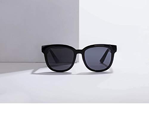 SMSOM Gafas de Sol Inteligentes Bluetooth Gafas de Sol con Lentes polarizadas Azul LUZ Y 5.0 Conectividad Bluetooth Música Llamada de Voz (Color : B)