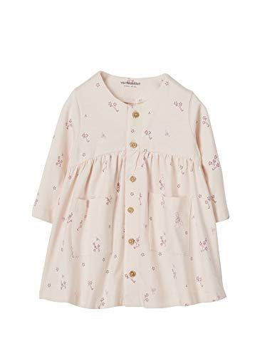 Vertbaudet Baby Kleid für Neugeborene, Blumen zartrosa 80