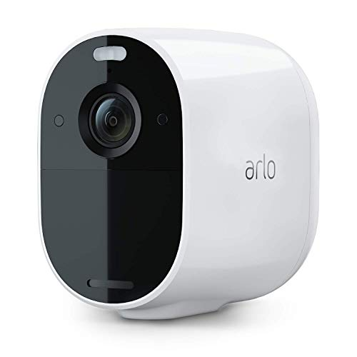 Arlo Essential Spotlight Camera | Wire-Free, 1080p Video | Color Night Vision, 2-Way Audio, 6-Month Battery Life, Motion Activated, Direct to Wi-Fi, No Hub Needed | Works with Alexa | White