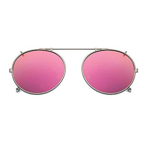 BHLTG Polarisierte sonnenbrille männer und frauen beschichtung kurzsichtigkeit clips brille spiegel quecksilber farbe clip fahrer set spiegel spiegel -1