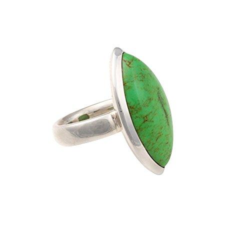 Erfurt Design Damen-Ring 925 Sterlingsilber Gaspeit Gr. 58 RA100-8