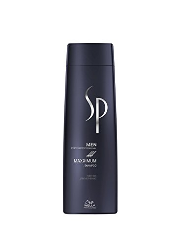 Wella Professionals SP MEN Maxximum Shampoo, 250 ml