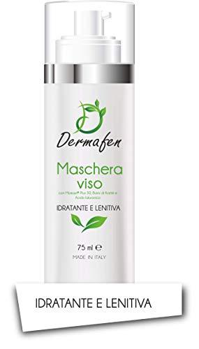 Dermafen - Maschera viso - Momast, Acido ialuronico, Burro di Karitè - 75 ml Airless