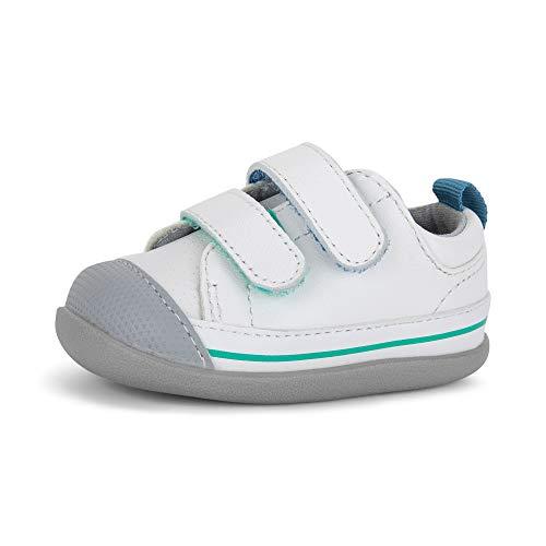 See Kai Run, Waylon Sneakers for Infants, White, 6